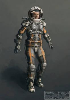 Heavy EVA Suit