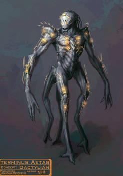 Creature Concept: Dactylian