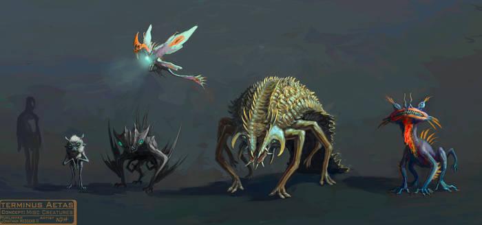 Terminus Aetas: Misc Creatures