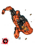 DeadPool - Color by lucasgomesdesouza