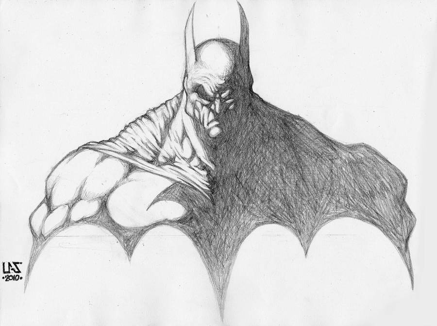 Batman Dark Knight - Sketch by lucasgomesdesouza