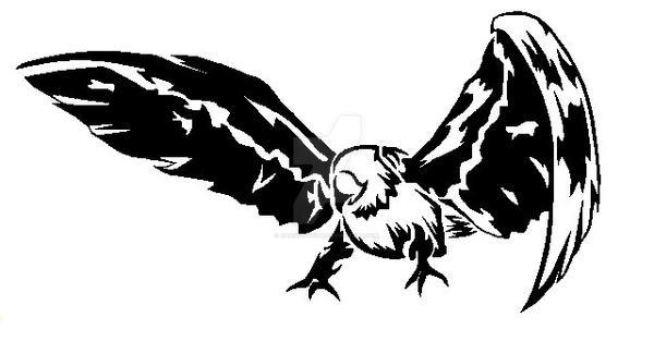 Tribal Lammergeier Vulture by DansuDragon on DeviantArt
