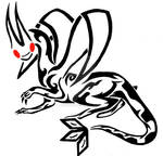 Tribal Flygon Tattoo