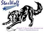 AT: Tribal Starwolf Tattoo