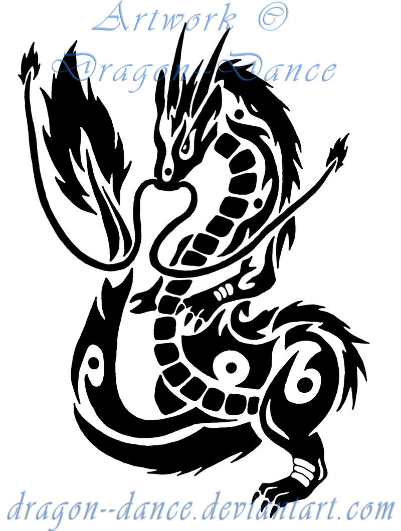 tribal chinese dragon designs images galleries with a bite. Black Bedroom Furniture Sets. Home Design Ideas