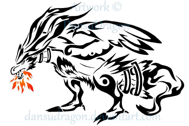 Mew And Umbreon Pokemon Tribal Tattoos...