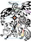 Team Sun Tribal Commission by DansuDragon