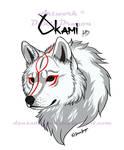 Okami HD Tee Design by DansuDragon