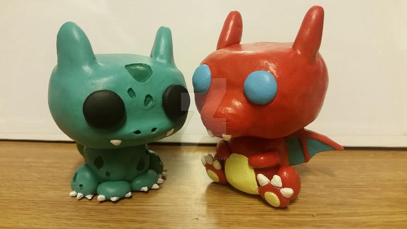 funko pop inspired pokemon figures by dansudragon on deviantart