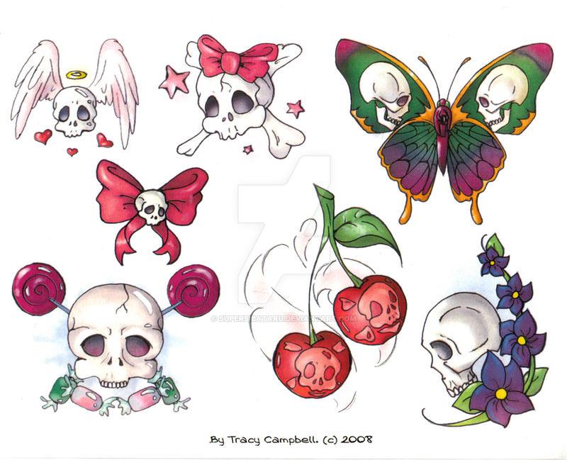 Skull Flash Art 1 by SuperSibataru