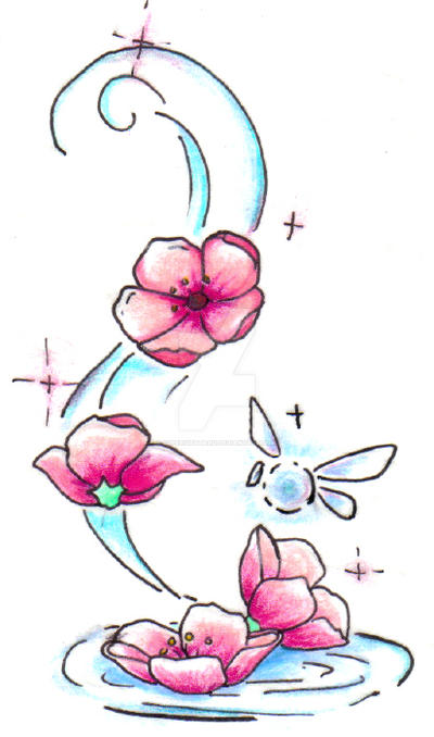 630fc12c2 Falling Flowers by SuperSibataru on DeviantArt