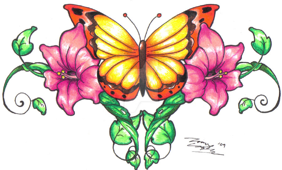 8e2c5aedf Butterfly Vines in Color by SuperSibataru on DeviantArt