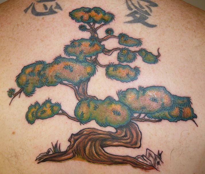 Bonsai Tree Tattoo by ~SuperSibataru on deviantART