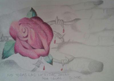 Rose by darkmae76