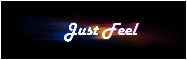 Just Feel Design name by RnoShaa