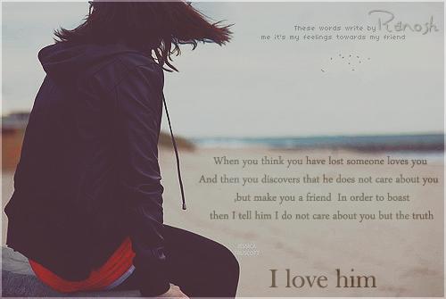 I LOVE HIM by RnoShaa