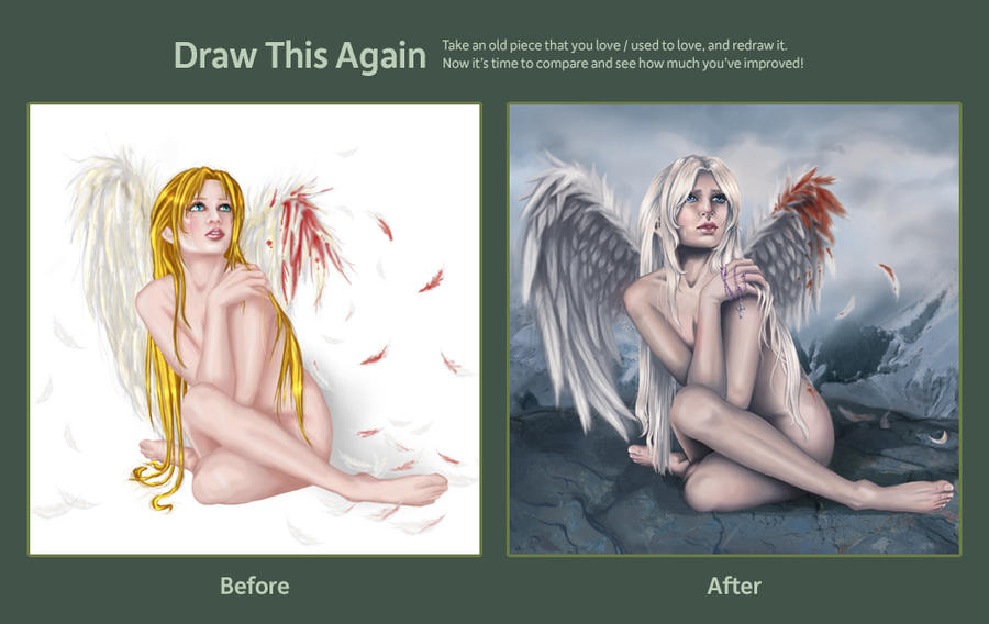 Draw This Again Challenge by midknightBLU