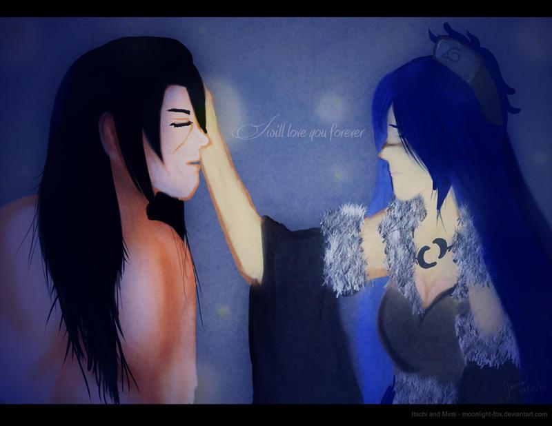 Itachi and Mirai by moonlight-fox