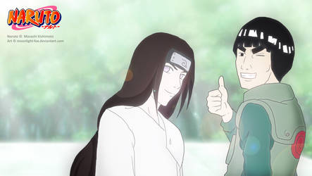 Naruto Fanart: Neji and Gai