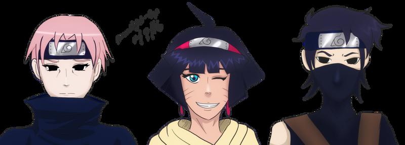 Penelope Jadewing's Naruto Next Gen - Colored