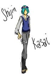 Character Sketch - Shijin Kasai by moonlight-fox