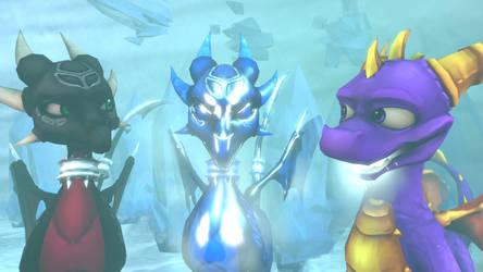 SFM The Legend of Spyro: DoTD 'In Her Image' by left4deadify