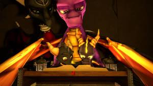 SFM The Legend of Spyro: DoTD 'Bedtime Reading' by left4deadify