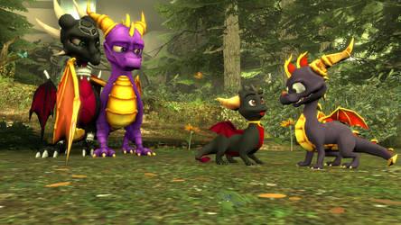 SFM The Legend of Spyro: DoTD 'Nature's Surprises' by left4deadify