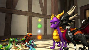 SFM The Legend of Spyro: DoTD 'Shy Hero'