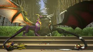 SFM The Legend of Spyro: DoTD 'Eternal Bond'