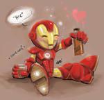 Iron Man the Chibi