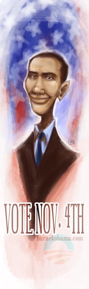 Obama by SpookyChan