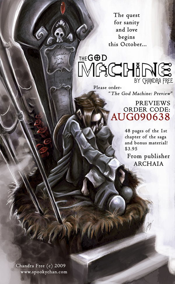 THE GOD MACHINE- PreOrder by SpookyChan