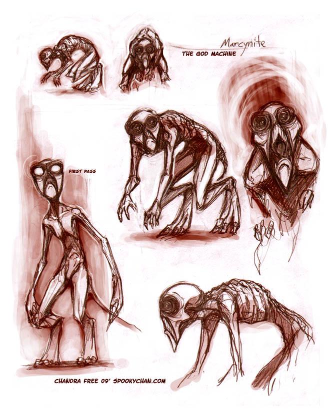 TGM - Marcynite Designs by SpookyChan