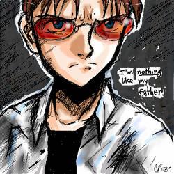 Shinji's problem by SpookyChan