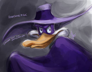 Darkwing Duck by SpookyChan