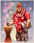 VB Tiki Party2- Sgt Hatred