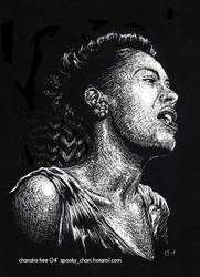 Billie Holiday by SpookyChan