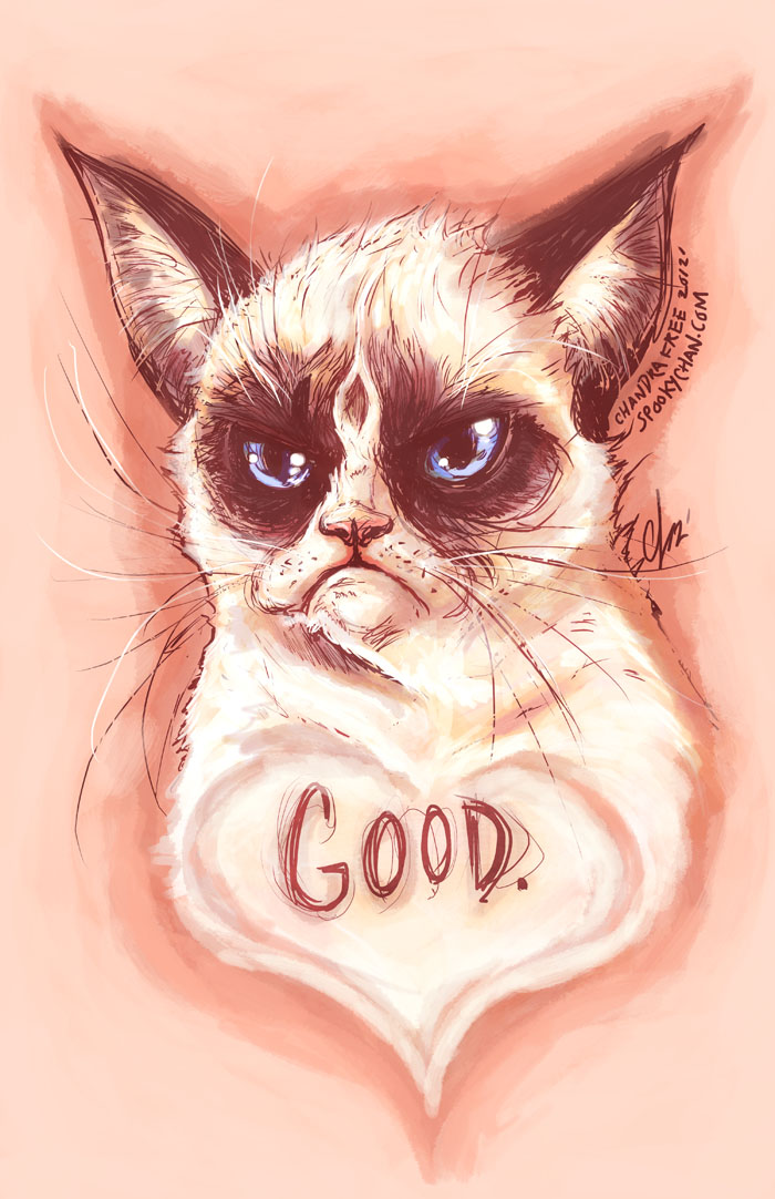 Grumpy Cat by SpookyChan