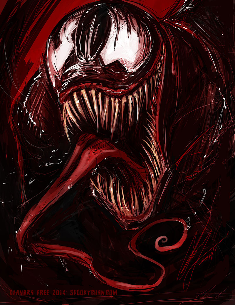 Venom - Commission by SpookyChan