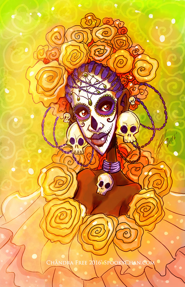 Mari - Day of the Dead by SpookyChan