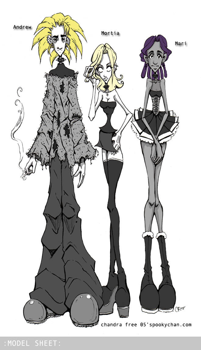 CS- Andrew - Mortia - Mari by SpookyChan