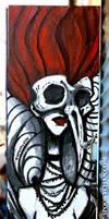 Skull Girl - Bushwick Brooklyn NY