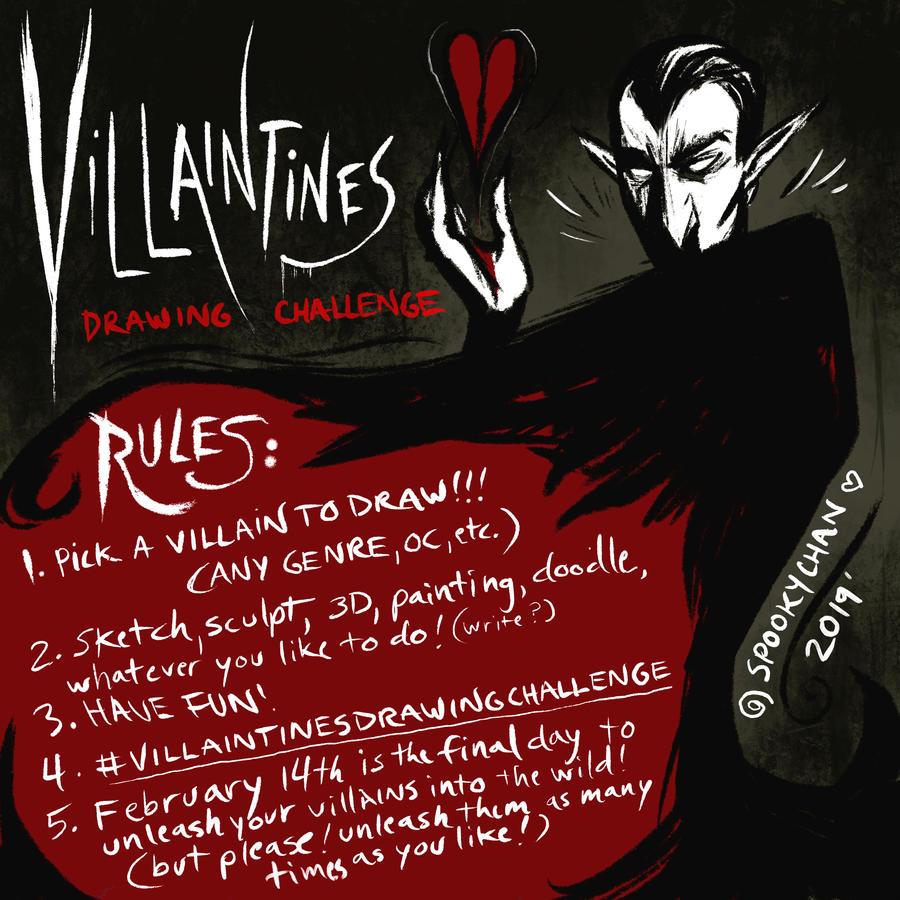 #VillaintinesDrawingChallenge