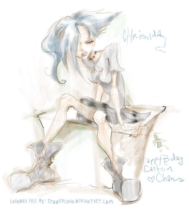 Chriselda for Shiva b-day by SpookyChan