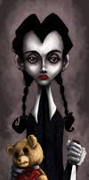 Wednesday Addams -Happy V-day-