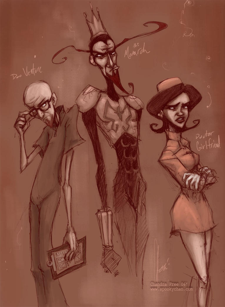 Venture Brothers Clan by SpookyChan