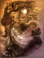 + My Virgin Widow + PRINT VER. by SpookyChan