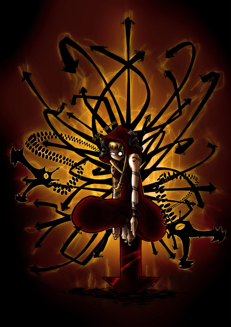 Medusa Vectornade (w. colors) by the-BATT-ART