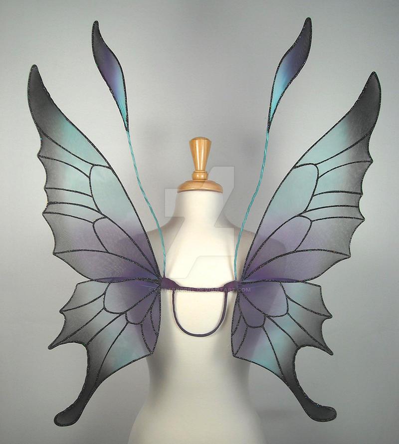 Крылья бабочки для костюма из проволоки